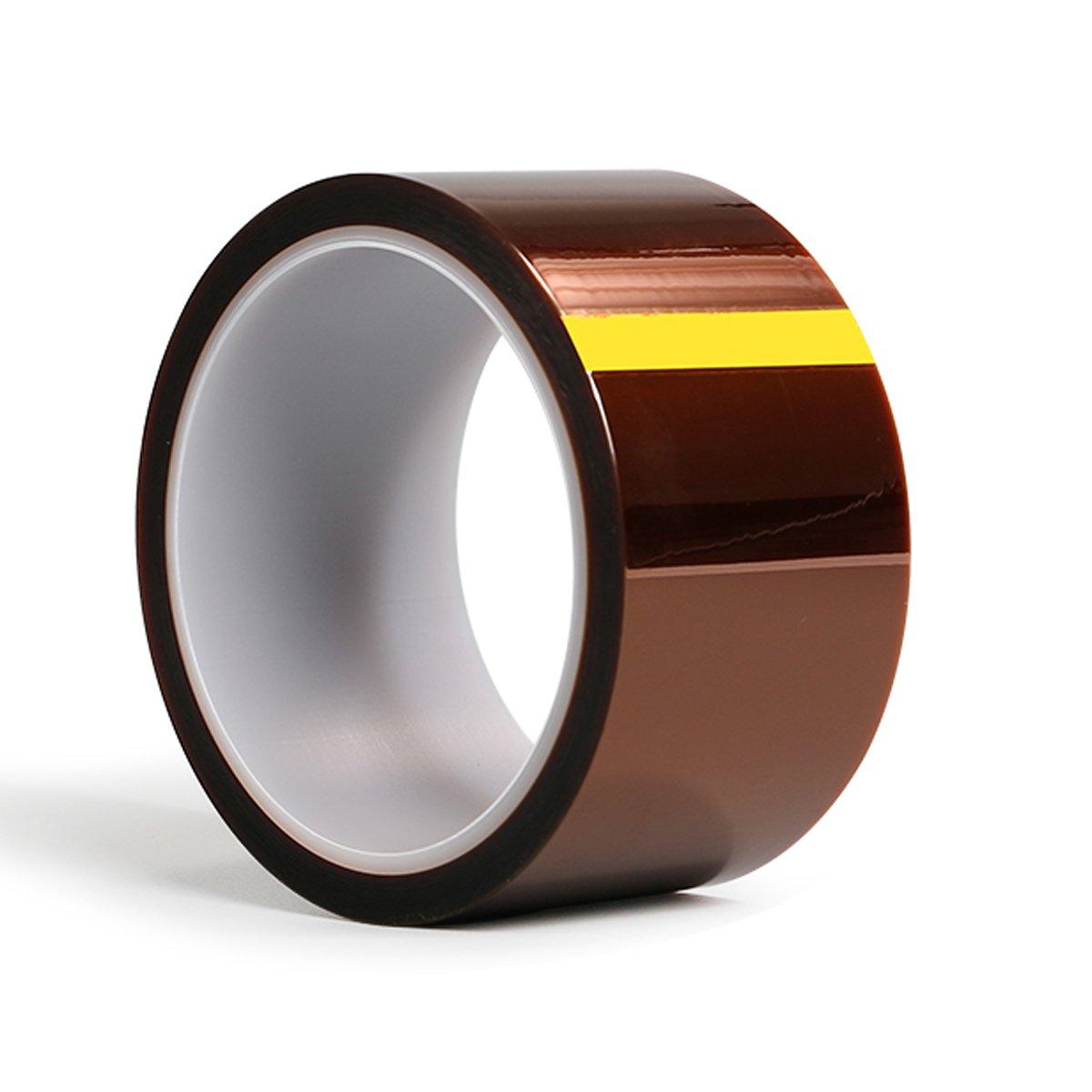 L/öten 2cm X 33M Pulverbeschichten Kapton Band Temperaturbest/ändiges Kapton Tape Polyimid Film Klebeband 33M L/änge f/ür 3D Drucker Hohe Maskierung Sublimation und Isolierende Leiterplatten von Aixin
