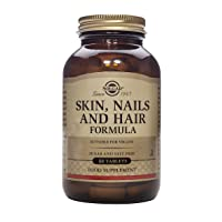 Solgar Skin, Nails & Hair, Advanced MSM Formula, 60 Tablets - Supports Collagen for Hair, Nail and Skin Health - Provides Zinc, Vitamin C & Copper - Non GMO, Vegan, Gluten & Dairy Free - 30 Servings