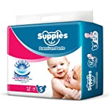 Supples Regular Baby Pants Small Size Diapers (78 Count)