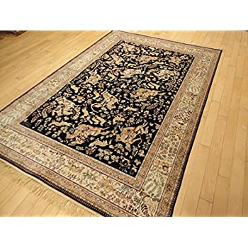 Amazon Com Silk Persian Traditional Rug Area Rugs 5x8 Rug