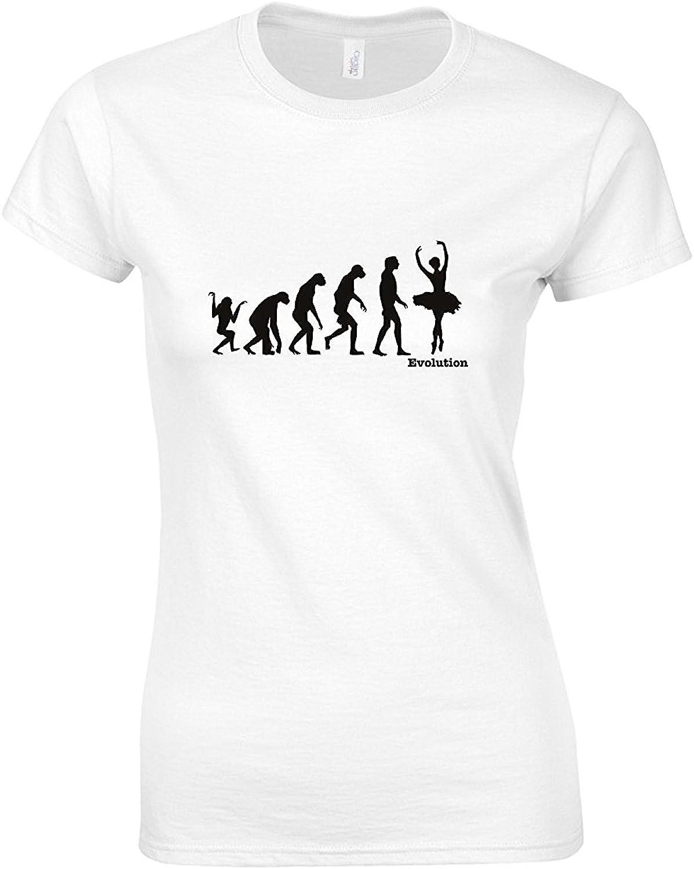 Evolución de (Wo) hombre – Camiseta de ballet Blanco blanco ...