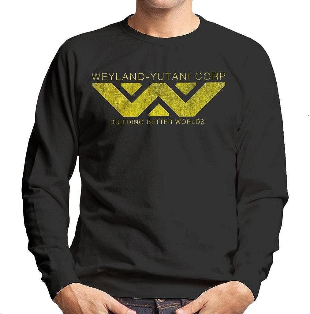 Weyland Yutani Corp Logo Alien Building Better Worlds Mens Sweatshirt