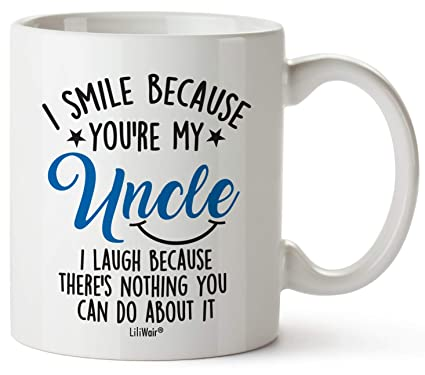 Fathers Day Gifts For Uncle Chrithmas Gift From Niece Nephew Funny Birthday