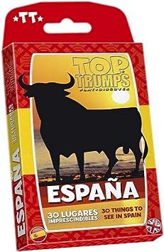 Winning Moves- Top Trumps España 30 Lugares Imprescindibles Juego ...