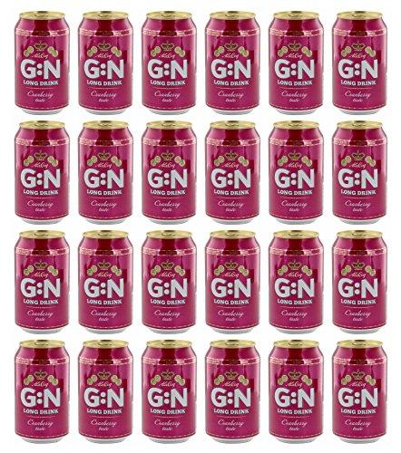 G:N - Long Drink Cranberry Cider 5,5% Vol. - 24x0,33l