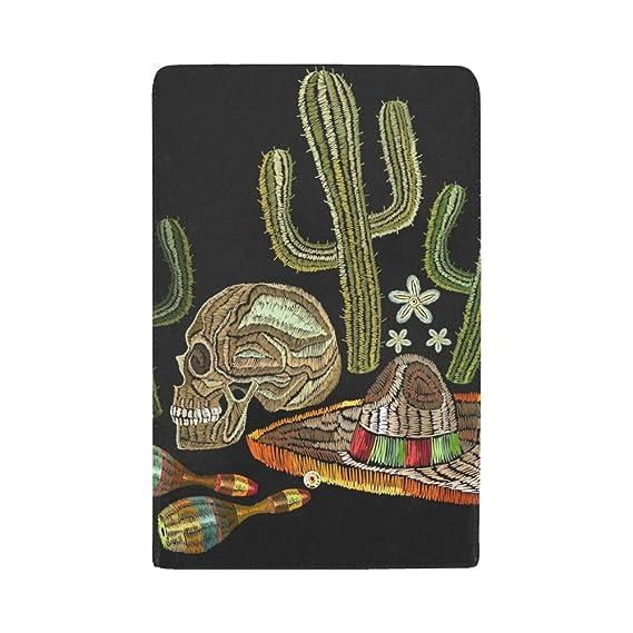 Bordado Personalizado único Cultura Mexicana Cráneo Humano ...