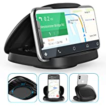 Other GPS and Smartphones. Car Phone Holder-Kumako Dashboard Cell Phone Holder Cradle Silicone Pad Mats for iPhone Xs Max XR X 8 7 Samsung Galaxy Note 10 S10