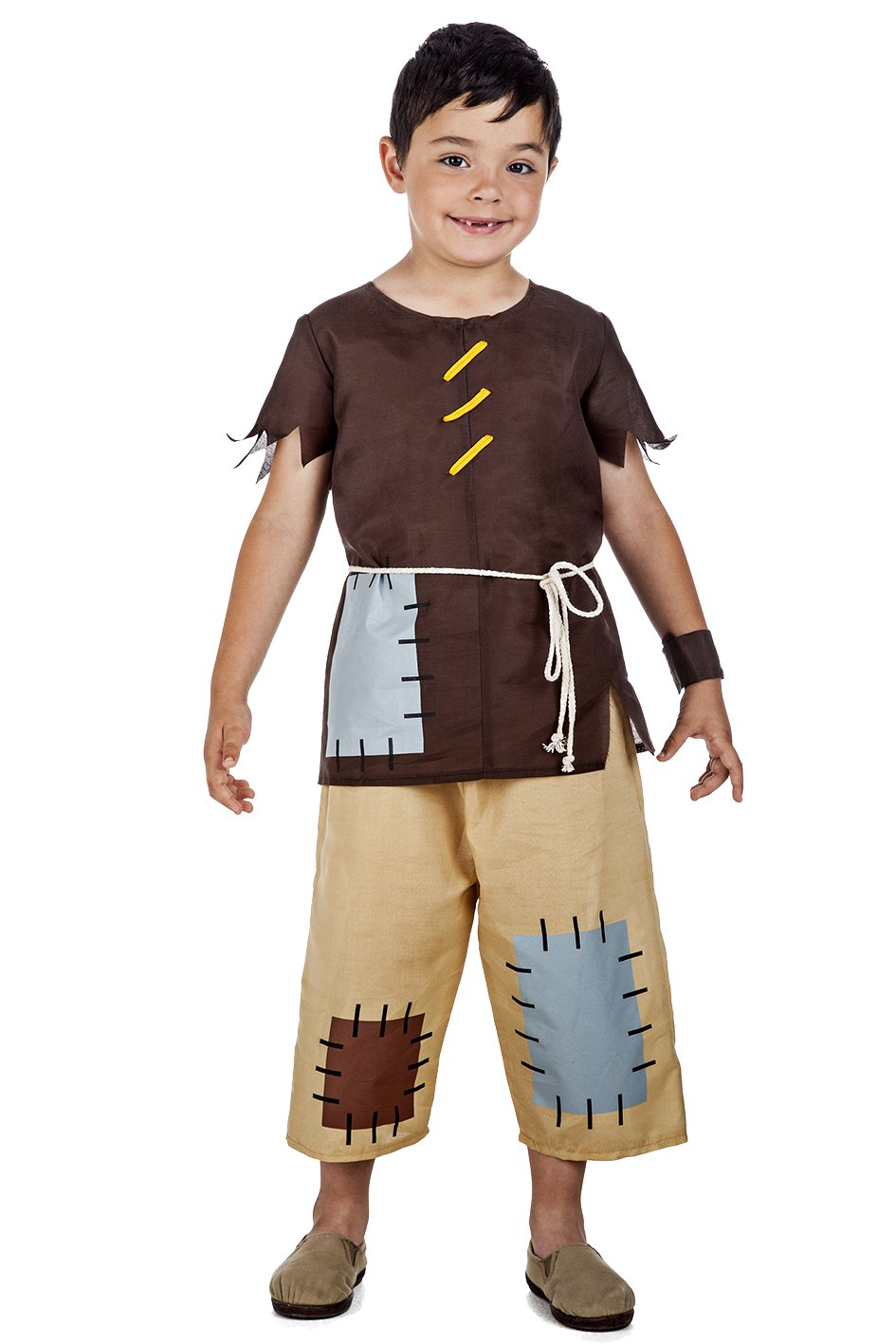 Disfraz de Medieval Pobre Niño (5-6 años): Amazon.es ...