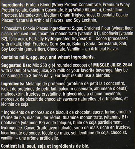 Ultimate Nutrition Muscle Juice 2544, Cookies 'n' Cream, 13.2 Pound