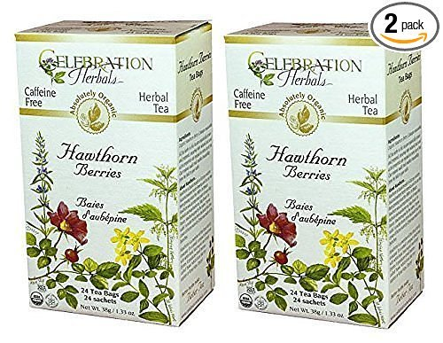 Celebration Herbals Organic Hawthorne Caffeine