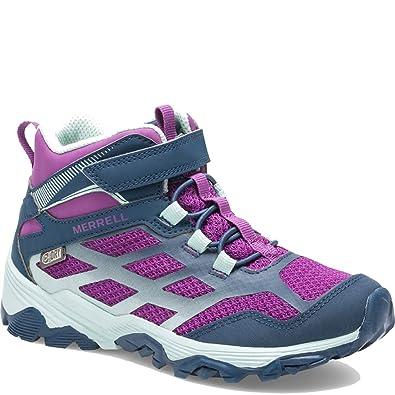 7445ee07284 Merrell Moab Fst Mid A/C Waterproof Sneaker (Little Kid/Big Kid)