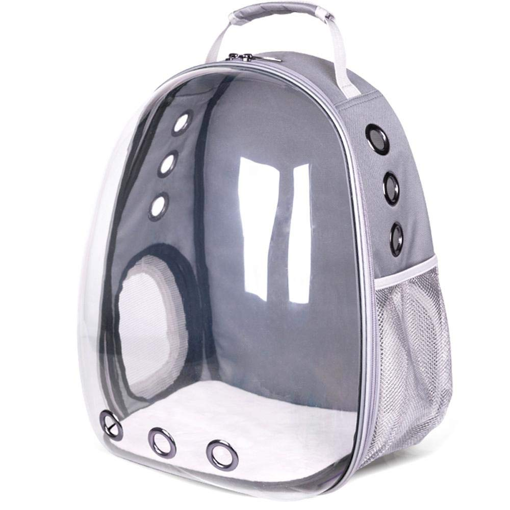 Umiwe Pet Carrier Backpack - Transparent Cat Bubble Backpack with Space Capsule Bubble Design, Airline Approved