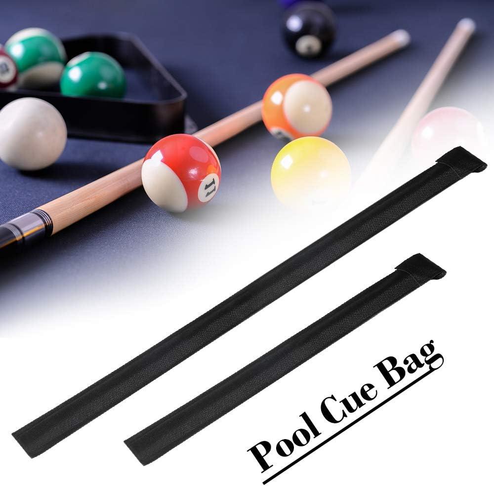 Lixada Pool Queue Stick Tasche Billard Stick Aufbewahrungstasche Queue Pole Halter Fall Snooker Billard Rod Canvas Bag