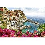 XXXL Canvas Unframed Print 20 X 30 Scenery Of Italy Series - Monarola Village Cinque Terre)