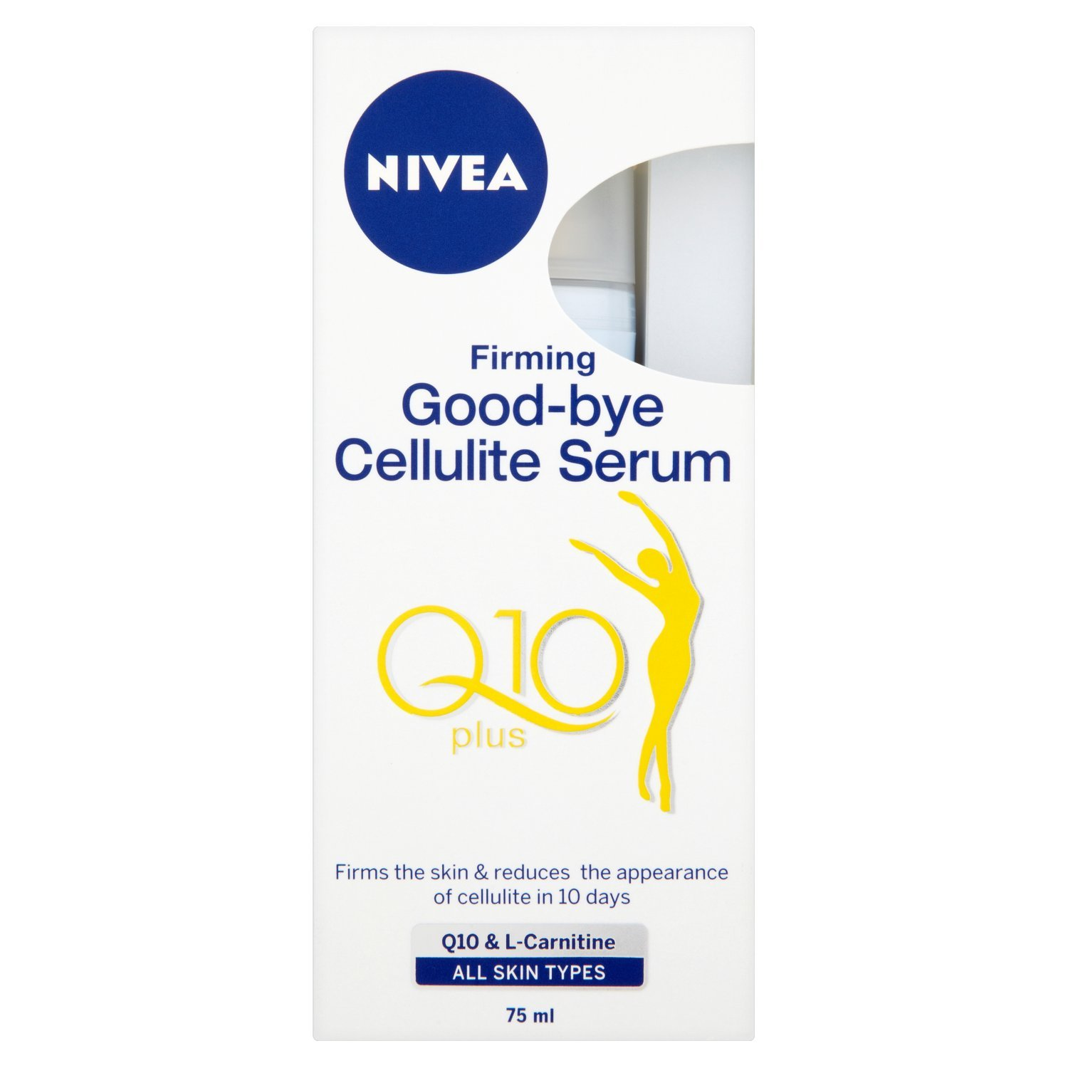 Nivea Q10 Energy Plus Firming Good-Bye Cellulite Serum - 75 ml Beiersdorf UK Ltd 80235