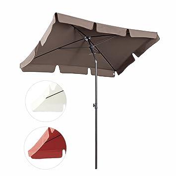 sekey sombrilla x cm parasole para terraza jardn playa balcn piscina patio protector