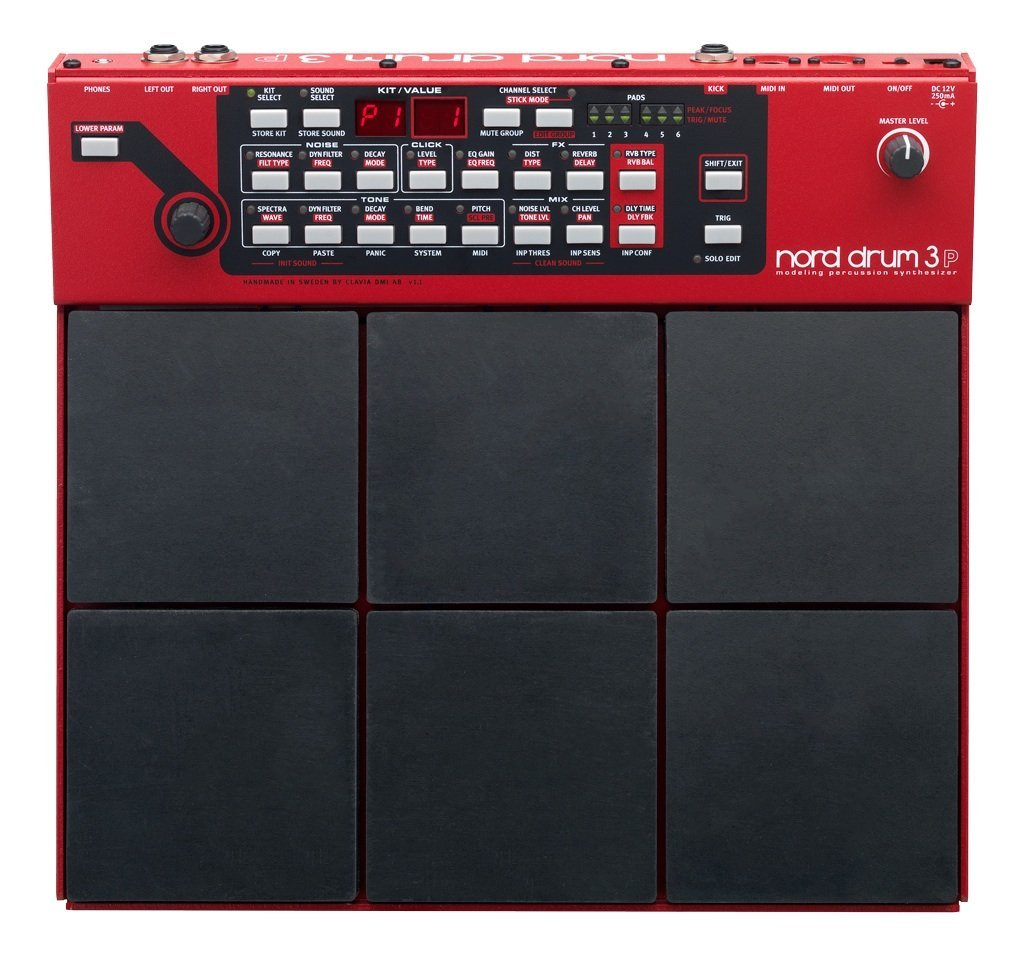 Nord Drum 3P Modeling 6-Channel Percussion Synthesizer