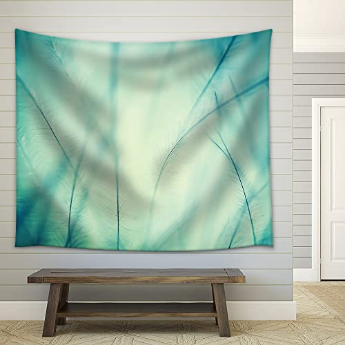 wall26 – Plumage Background of Bird Closeup – Fabric Wall Tapestry Home Decor – 68×80 inches