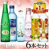 飲んで友達に自慢しよう 発泡清酒コンプリートベスト6本セット Vol.10 【すず音】