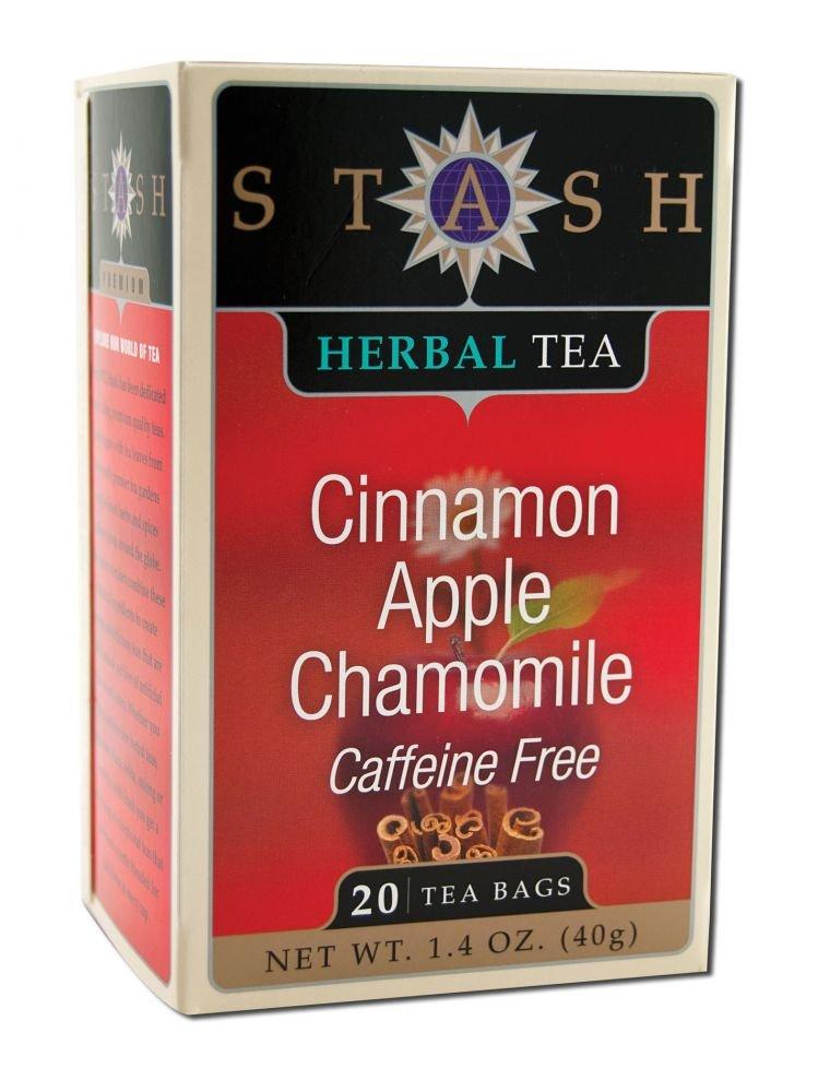 STASH TEA TEA CNNMN APPLE CHAMOMILE, 20 BG