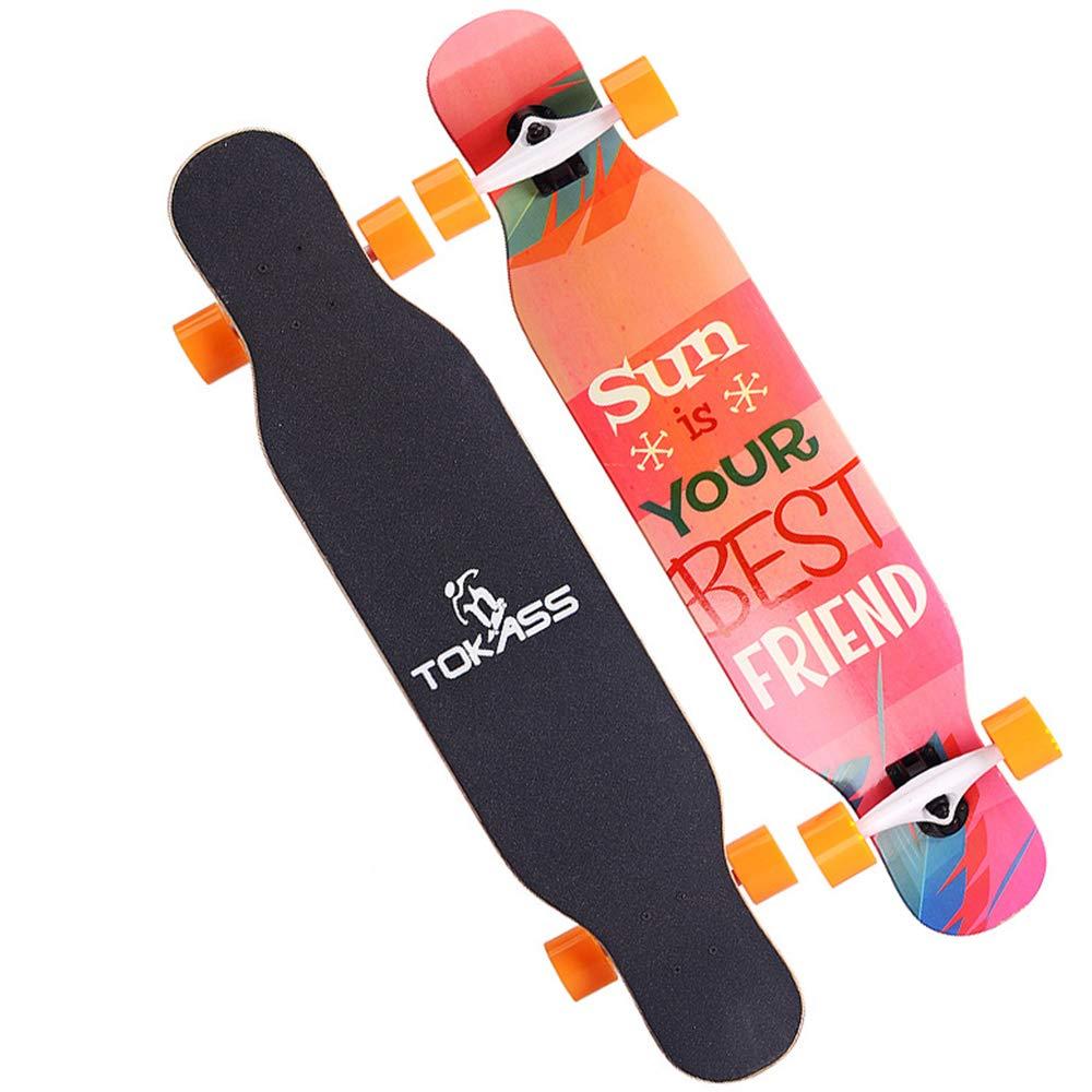 CM Skateboard, Ragazzi e Ragazze Ragazze Ragazze Pennello Street Dance Skateboard, Nove Strati di Acero a Quattro Ruote Skateboard, Adatto per i Principianti Uomini e Donne Regalo di Compleanno di Natale,3 B07M6QLL7R 3 | vendita all'asta  | Servizio durevole  | Intelli 99a4c6