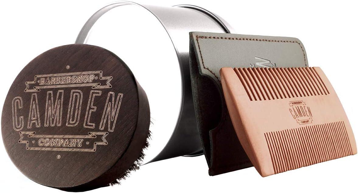 Kit spazzola e pettine - Camden Barbershop Company