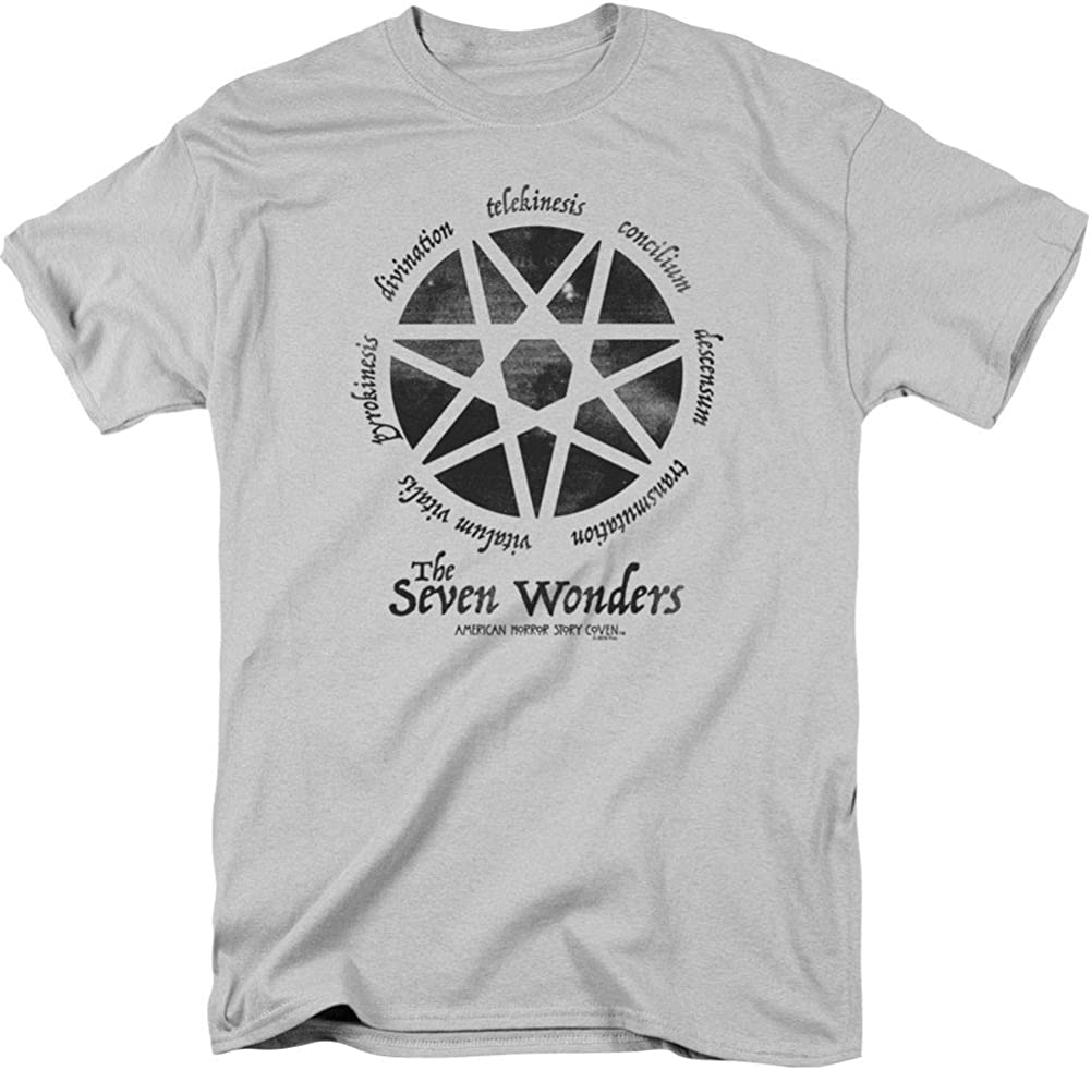 American Horror Story TV Show SEVEN WONDERS Coven Adult T-Shirt All Sizes