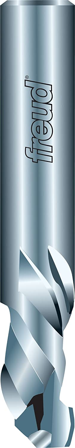 Freud 1//2 77-610 Solid Carbide Mortise Compression Spiral Bit with 1//2 Shank Dia.