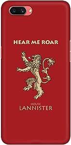 Stylizedd Oppo A3s Slim Snap Basic Case Cover Matte Finish - GOT House Lannister
