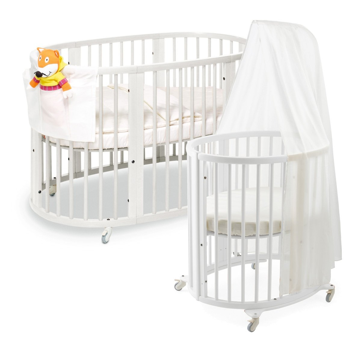amazoncom  stokke sleepi system white  crib bedding sets  baby -