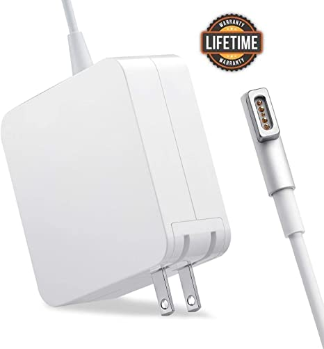 Mac Book Pro Charger, 60W Magsafe1 Power Adapter L-Tip Magnetic Connector Charger for Mac Book and 13-inch Mac Book Pro(Before Mid 2012 Models) ...