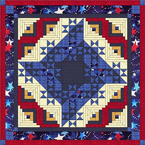 Easy Quilt Kit Patriotic Friendship Star