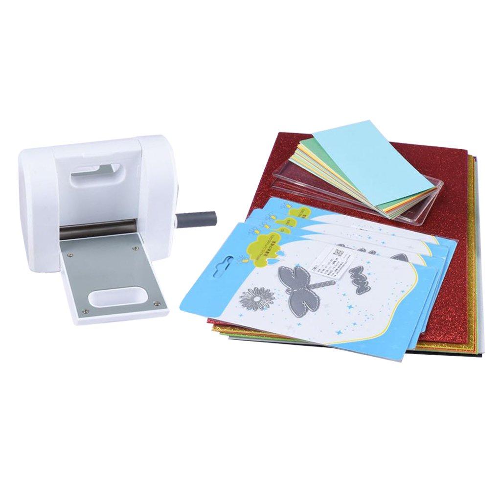 Fityle エンボスマシン ダイカット 紙飾り用具 装飾工芸 ギフト 便利 簡単 お祝い かわいい B07BHNB1LV