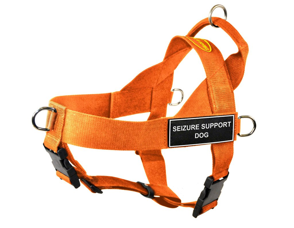 orange Medium orange Medium Dean & Tyler DT Universal No Pull Dog Harness with Seizure Support Dog Patches, orange, Medium