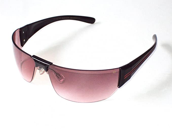 c71b5a15b56f Image Unavailable. Image not available for. Colour: Estivo Pink Wraparound  Sunglasses ...