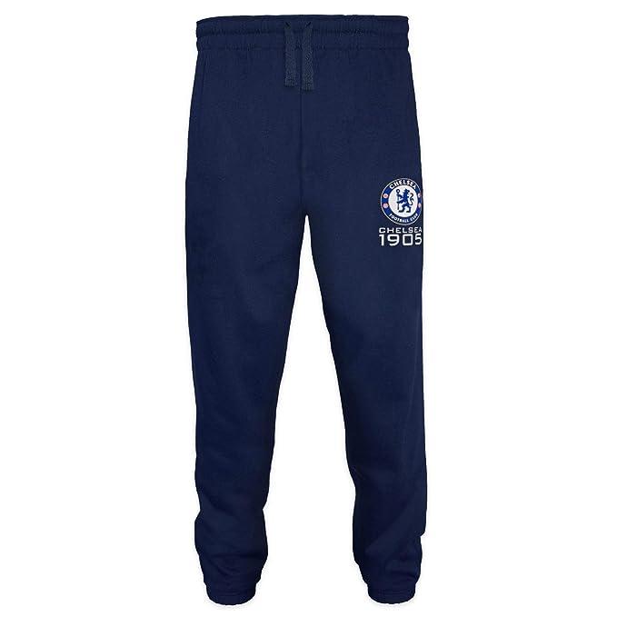 Chelsea FC - Pantalón de fitness para hombre - Forro polar ...