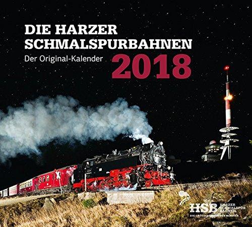 Die Harzer Schmalspurbahnen 2018: Kalender 2018