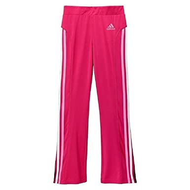 fee0522e0 Image Unavailable. Image not available for. Color: Adidas Side Stripes Yoga  Pants - Girls 7-16 XL