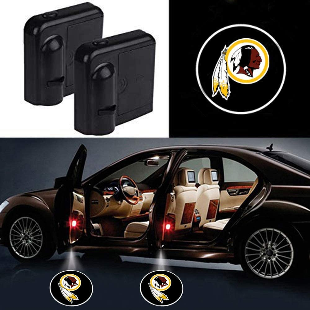 Jacksonville Jaguars wesport Car Door Led Welcome Laser Projector Car Door Courtesy Light Suitable Fit for all brands of cars