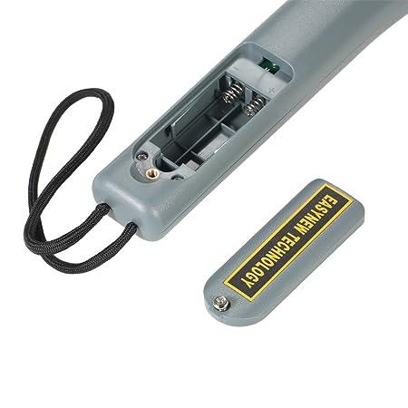 KKmoon Metal Detector Alto Sensibilidad Portátil la Seguridad Inspección Metal Detector con Zumbador Vibración para Seguridad Comprobar: Amazon.es: ...