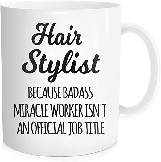 Hairdresser Youre Looking Awesome Funny Magic Mug Christmas Birthday Gift