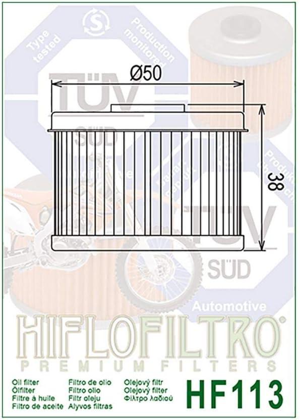 /Ölfilter Hiflo XL 125 V Varadero JC32 01-10