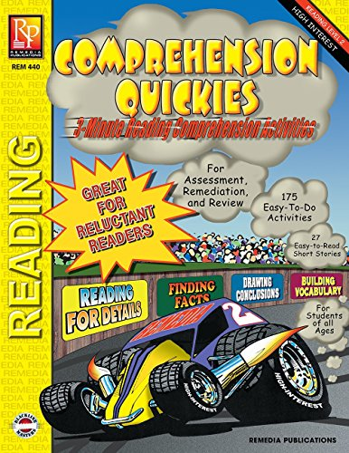 Comprehension Quickies (Reading Level 2) | Reproducible Activity Book