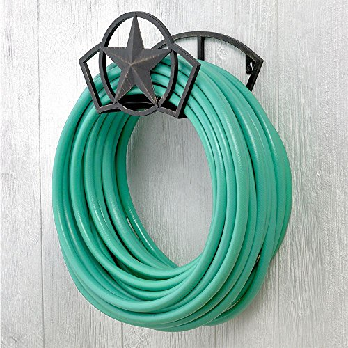 Liberty Garden Products 234 Wall Mount Star Garden Hose Butler, 7.5 x 11.75 x 8