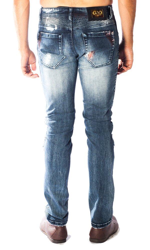''Nightmare'' Barabas Blue Men's Jeans 36 by Barabas (Image #3)