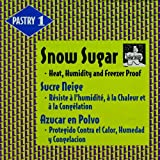 Snow Sugar - Heat, Humidity and Freezer Proof - 1 box - 22 lb