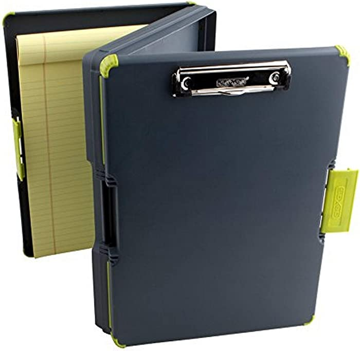 Dexas Duo Clipcase Dual Sided Storage Case and Organizer, Green