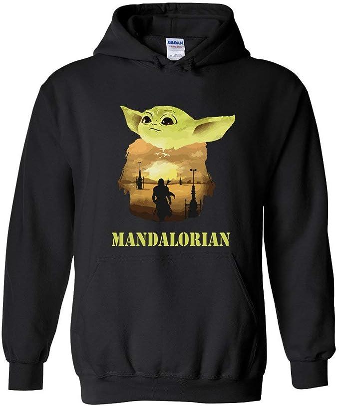 TSHIRTAMAZING Mandalorian-Baby-Yoda Hoodie Gift