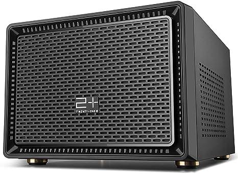 GOLDEN FIELD N-1 Micro ATX/Mini ITX Mid-Torre Mini Caja de la ...