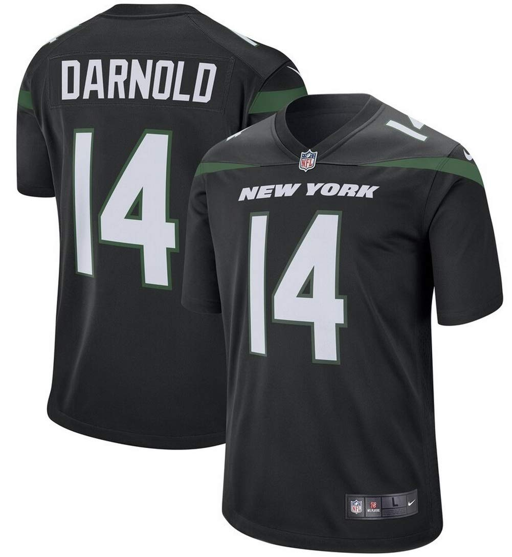 size 40 c126f cf579 Amazon.com : Nike Men's Sam Darnold NFL New York Jets Game ...